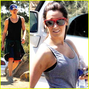 Ashley Tisdale: Runyon Canyon Hike with Austin Butler!