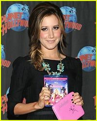 Bid &#038; Win Ashley Tisdale's Signed Sharpay Clutch