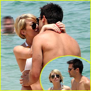 Chelsea Kane & Stephen Colletti: Beach Besos
