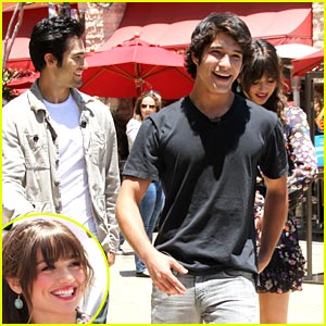 Crystal Reed Takes Teen Wolves To The Grove
