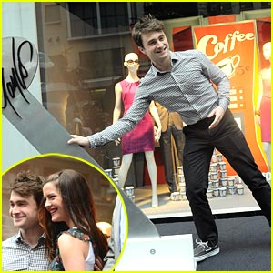Daniel Radcliffe 'Succeeds In Business' at Lord & Taylor