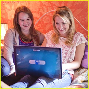 Emily Osment & Kay Panabaker in 'Cyberbully' -- FIRST PICS!