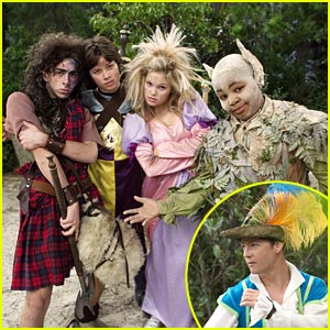 Jason Earles Sticks A Feather In His Hat...