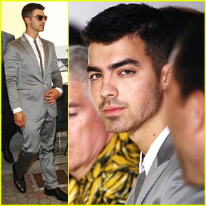 Joe Jonas: Calvin Klein Show in Milan