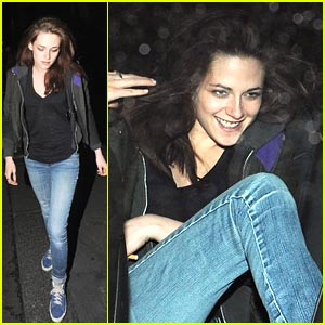 Kristen Stewart: Groucho Club Giggly
