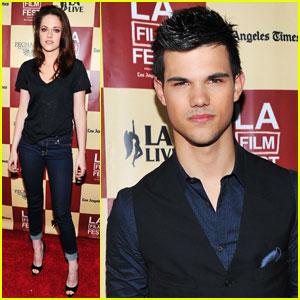 Kristen Stewart & Taylor Lautner Want 'A Better Life'