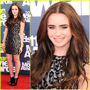 Lily Collins - MTV Movie Awards 2011