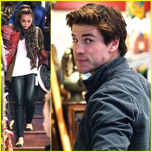 Liam Hemsworth Joins Miley Cyrus in Brisbane!