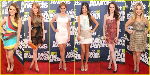 2011 MTV Movie Awards - Best Dressed Poll!