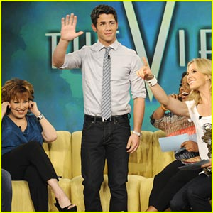 Nick Jonas: 'The View' From New York