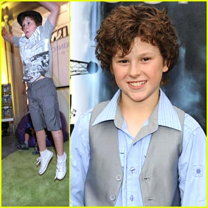 Nolan Gould: 'Super 8' & Kidstock Events!