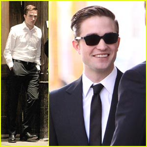 Robert Pattinson: Dashing &#038; Dapper in Toronto