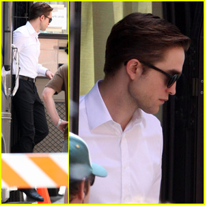 Robert Pattinson: Sharp on Set