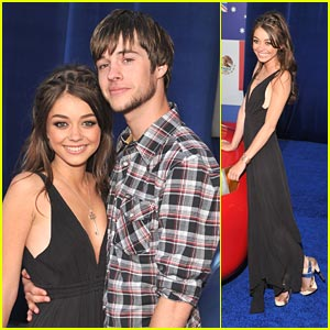 Sarah Hyland & Matt Prokop: Cars Couple