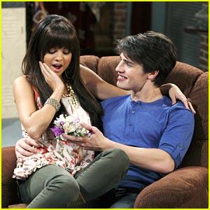 Gregg Sulkin & Selena Gomez: Corsage Couple