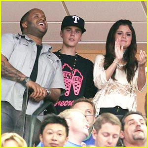 Selena Gomez & Justin Bieber: Mavs Mates