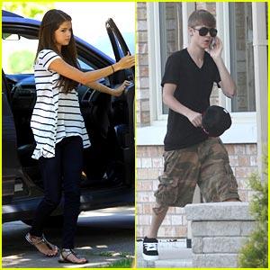 Selena Gomez & Justin Bieber: Cherry Cheesecake Couple