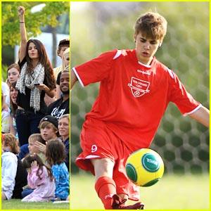 Selena Gomez: Justin Bieber's Soccer Sweetheart