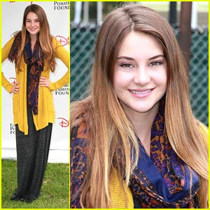 Shailene Woodley: A Time For Heroes Picnic!