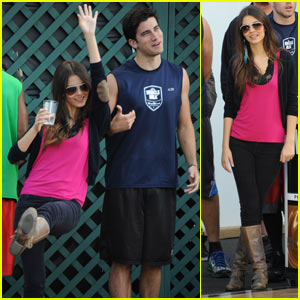Victoria Justice: Basketball Tournament with Ryan Rottman!