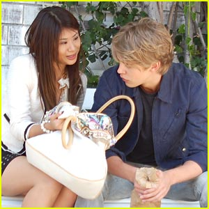 Yin Chang & Austin Butler: 'Bling Ring' in Beverly Hills