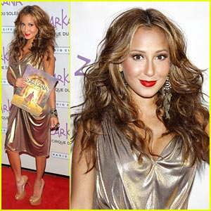 Adrienne Bailon: 'Zarkana' Opening Night!