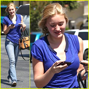 AJ Michalka: Bold in Blue