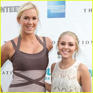 AnnaSophia Robb: ESPN X-Games Kick Off with Bethany Hamilton