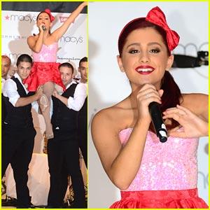 Ariana Grande Makes Macy's Music