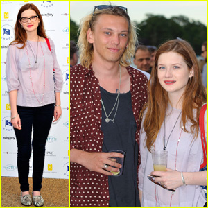 Bonnie Wright & Jamie Campbell Bower: Swim Party Sweeties!
