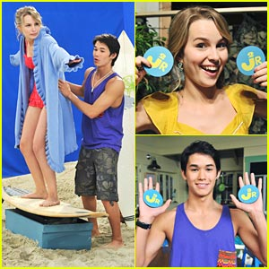 Booboo Stewart on 'Good Luck Charlie' -- FIRST LOOK!