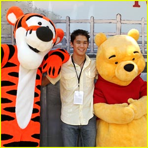 Booboo Stewart: Winnie The Pooh Premiere!