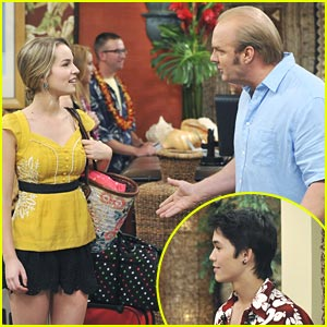 Booboo Stewart on 'Good Luck Charlie' -- MORE PICS & Video!