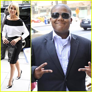 Chelsea Kane & Kyle Massey: National Press Club Meeting