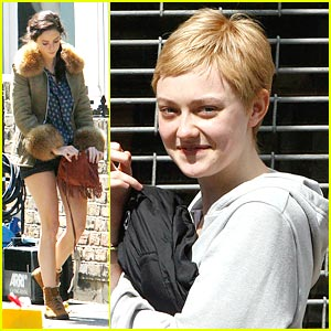 Dakota Fanning &#038; Kaya Scodelario: 'Now is Good' in London