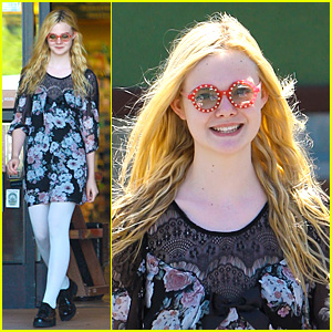 Elle Fanning: Funky Glasses Fun!
