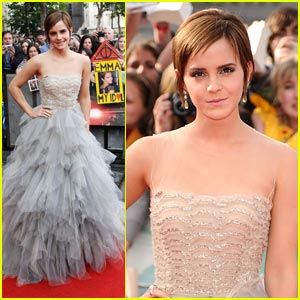 Emma Watson: 'Harry Potter' Premiere!