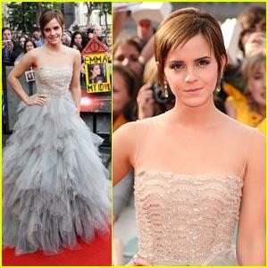 Emma Watson: 'Harry Potter' Premiere!