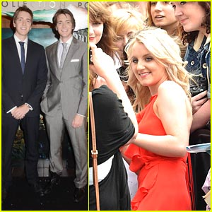 Evanna Lynch & Phelps Twins: 'Harry Potter' Hits Dublin!