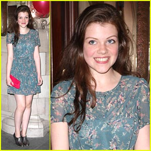 Georgie Henley is 'Legally Blonde'