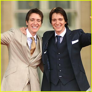 James &#038; Oliver Phelps: Trafalgar Twins