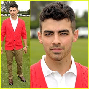 Joe Jonas Plays Some Polo