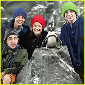 Leo Howard: Penguin Party on Kickin It'!