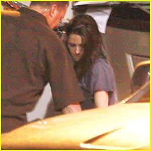 Kristen Stewart: 'Cosmopolis' Set Visit!