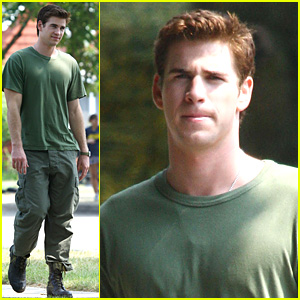 Liam Hemsworth: 'AWOL' Green Guy!