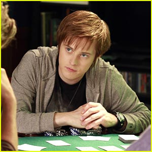 Lucas Grabeel Puts on His Poker Face
