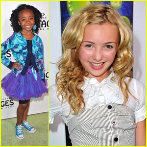 Peyton List & Skai Jackson: Shrek Sweeties