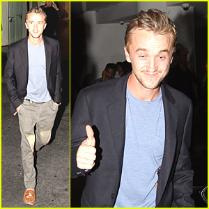 Tom Felton: Blast From The Past In 'Borrowers'!
