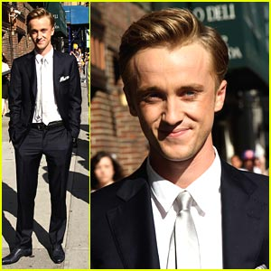 Tom Felton: No Rapping Here!