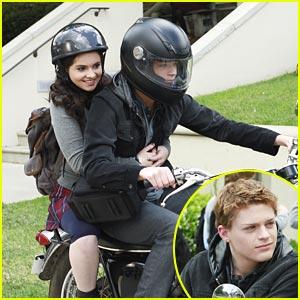 Vanessa Marano & Sean Berdy: Motorcycle Mates